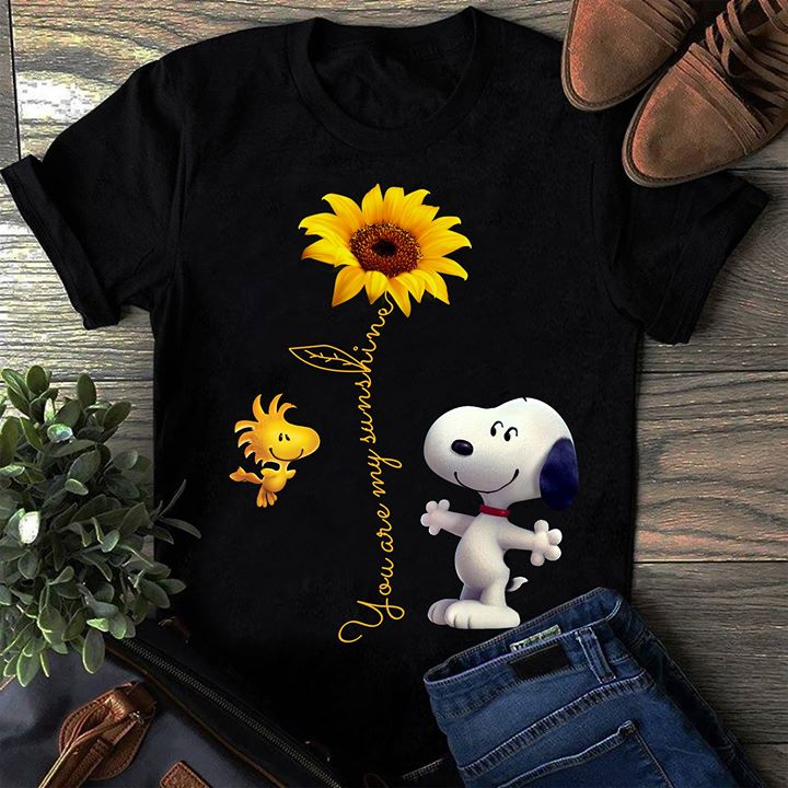 ebf2d2a4caf2 Snoopy and Woodstock You Are My Sunshine Shirt - TeePython