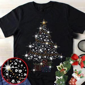 Mickey Mouse Christmas Tree.Mickey Mouse Christmas Tree Shaped Shirt