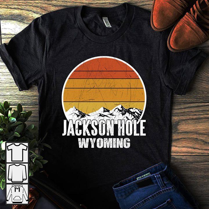 Vintage Snow Mountain Jackson Hole Wyoming Shirt
