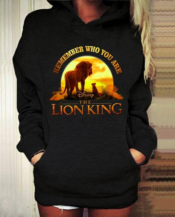 Remember Who You Are Disney The Lion King Hoodie Teepython