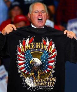 America Love It Or Leave It The Powerful Eagle Shirt