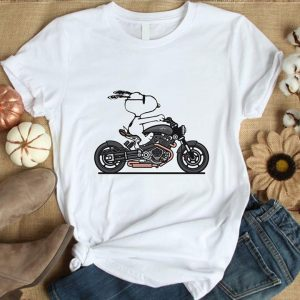 Cool Snoopy Motocycle Man