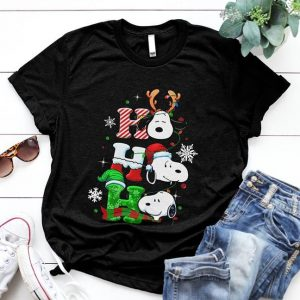 Happy Christmas Snoopy Ho Ho Ho Special Xmas Shirt