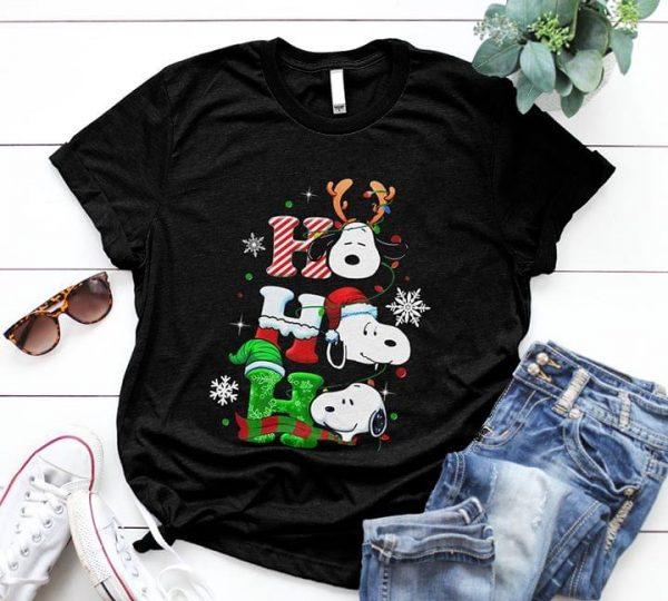 Happy Christmas Snoopy Ho Ho Ho Special Xmas Shirt