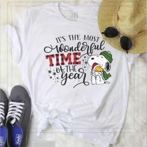 It's The Most Wonderful Time Of The Year Snoopy And Family Shirt