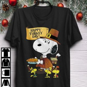 Snoopy Thanksgiving Happy Turkey Day Shirt