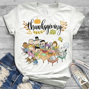 Snoopy Thanksgiving Holiday With All Friends Shirt