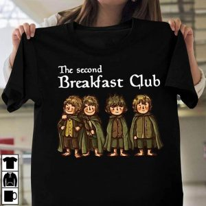 The Lord Of The Ring The Hobbit Boys The Second Breakfast Club T-Shirt Sweatshirt Hoodie